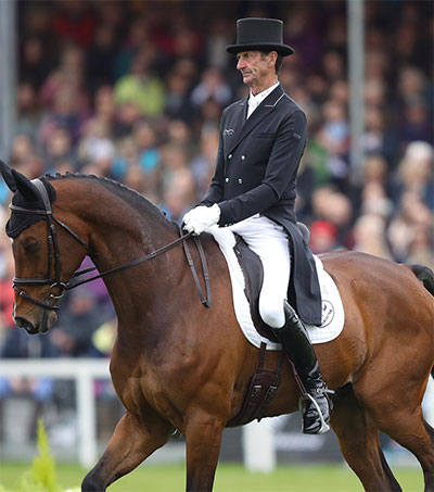 Equestrian Legend Sir Mark Todd Retires