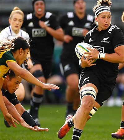Black Ferns Hand Wallaroos a Reality Check