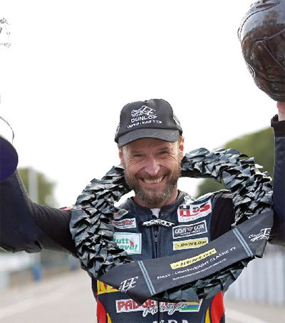Comeback Hero Bruce Anstey Wins Again at Classic TT