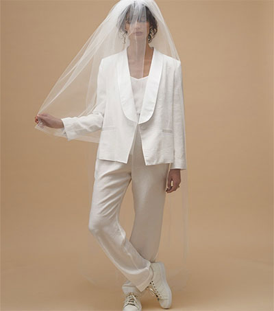 Karen Walker Launching Cool and Real Wedding Line