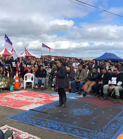 Young Māori Women Stand up for Their Land