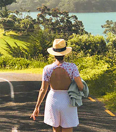Waiheke Evokes Fond Memories for Emilia Wickstead