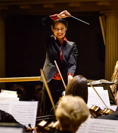 Welsh Appointment for Conductor Tianyi Lu
