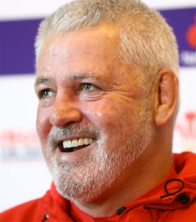 Departing Warren Gatland Out for Perfect End