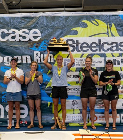 First for Surfskier Danielle McKenzie in Hong Kong