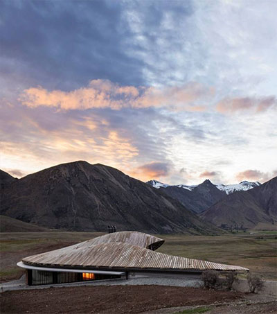 Remote Lindis Lodge Wins World Architecture Award