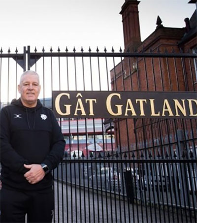 Gatland's Gate Honours Former Wales Coach