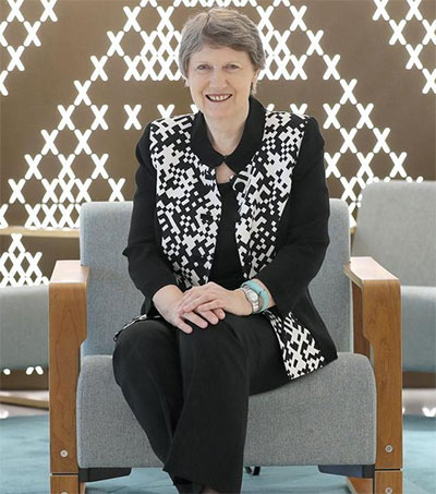 Helen Clark Discusses Global Cooperation