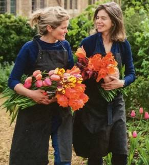 Bridget Elworthy – building a blooming business from an English manor house