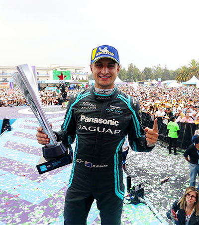 Mexico E-Prix Won by Jaguar's Dominant Mitch Evans