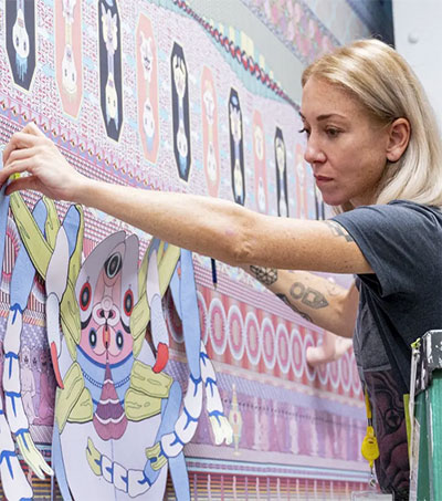 New York-Based Jess Johnson Finds Solace in Art