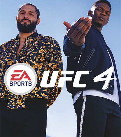 UFC Champ Israel Adesanya on Cover of Video Game