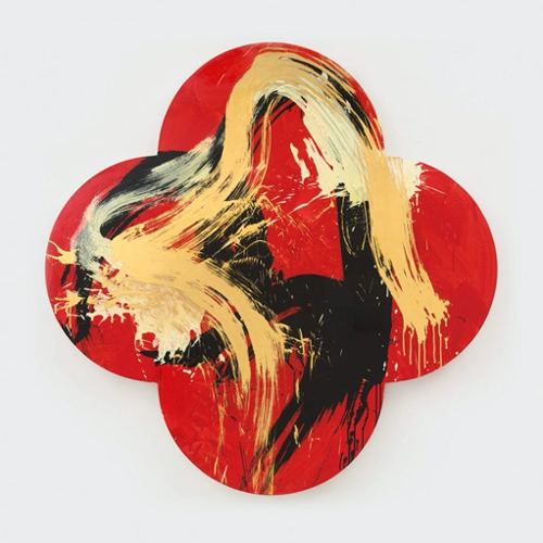 Max Gimblett, The Birth of Venus, 2013, 60 x 60 inches