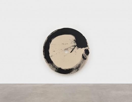 Max Gimblett, Enso-afterJuin, 2008, 80 x 80 inches