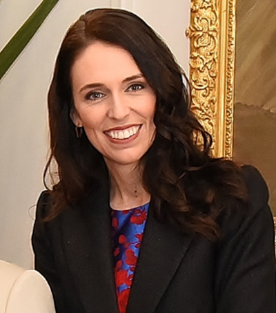 PM Jacinda Ardern Runner Up in Prospect List