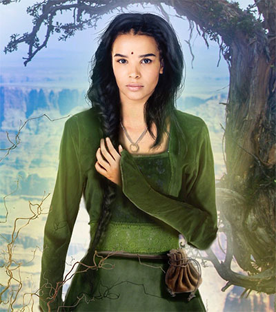 Wheel Of Time Star Zöe Robins Profiled