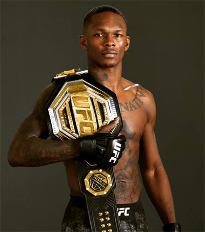 UFC Superstar Israel Adesanya Makes It Look Easy