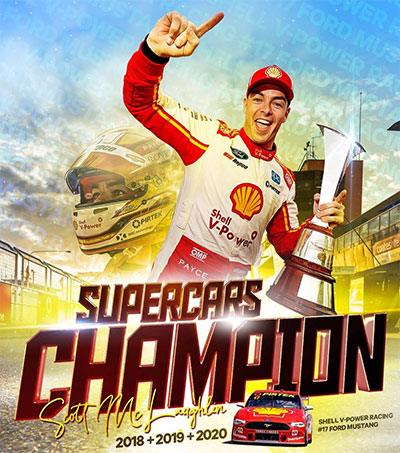 Supercar Driver Scott McLaughlin Makes History