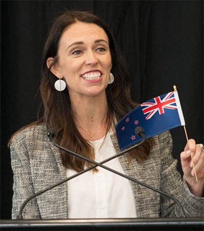 Harvard Activist Award for PM Jacinda Ardern