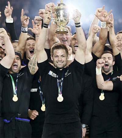 Richie McCaw World Rugby Player of the Decade
