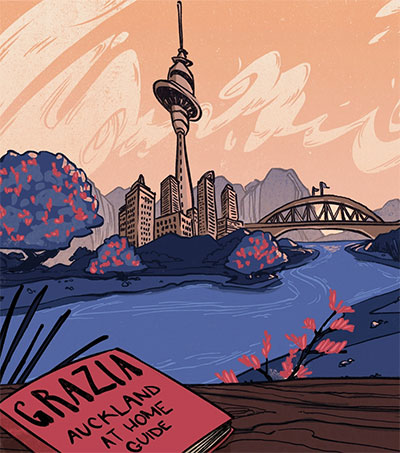 Grazia Publishes Daniel Ido's Take on Auckland