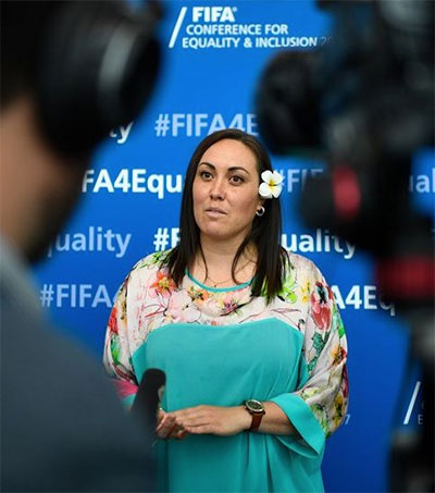 Fifa Exec Sarai Bareman Understands the Margins