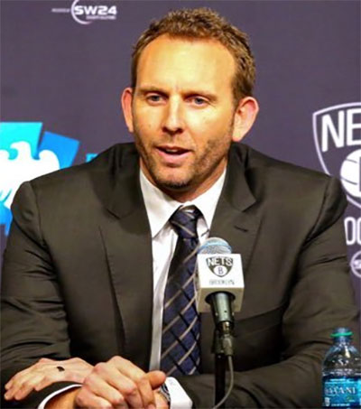 Brooklyn Nets GM Sean Marks a Slam Dunk