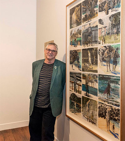 Artist Euan Macleod Scoops Huge Drawing Prize