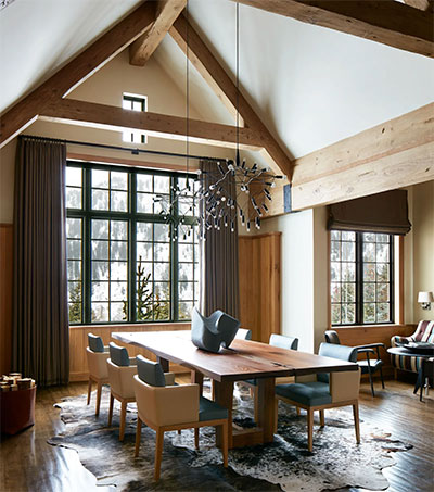 Step Inside a Sandra Nunnerley Aspen Interior