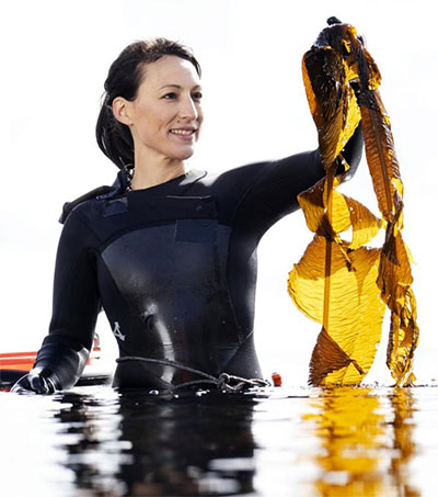 Tamara Singer Discovers the Truffle in Seaweed