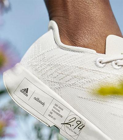 Allbirds and Adidas Make Planet-First Running Shoe
