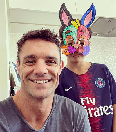 Family First for All Black Great Dan Carter