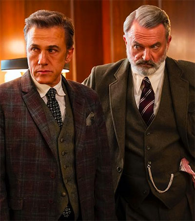First Look at Sam Neill in The Portable Door