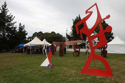 Sculpture by Paratene Temokopuorongo Matchitt