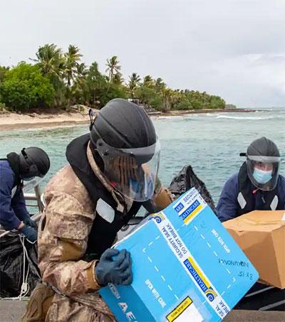 New Zealand Ships Covid Vaccines to Tokelau