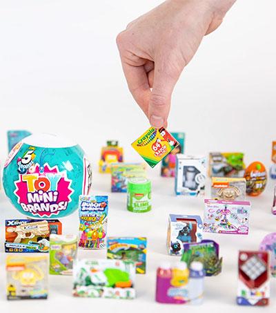 Toymaker Zuru Makes Big Sales with Mini Brands